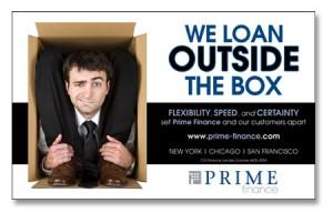 Prime Finance Ad