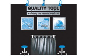 Quality Tool Tradeshow Booth
