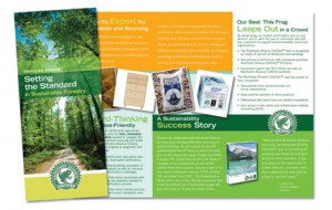 Rainforest Alliance Tri-Fold Brochure