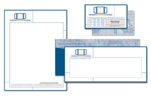 Window Support Systems Stationery