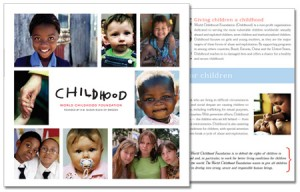 World Childhood Foundation Brochure